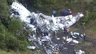 The soccer world faces tragedy after Brazilian team' plane crash
