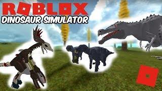 Roblox Dinosaur Simulator - Iguanodon Battles! (Wendigo + Gab Remodels!)