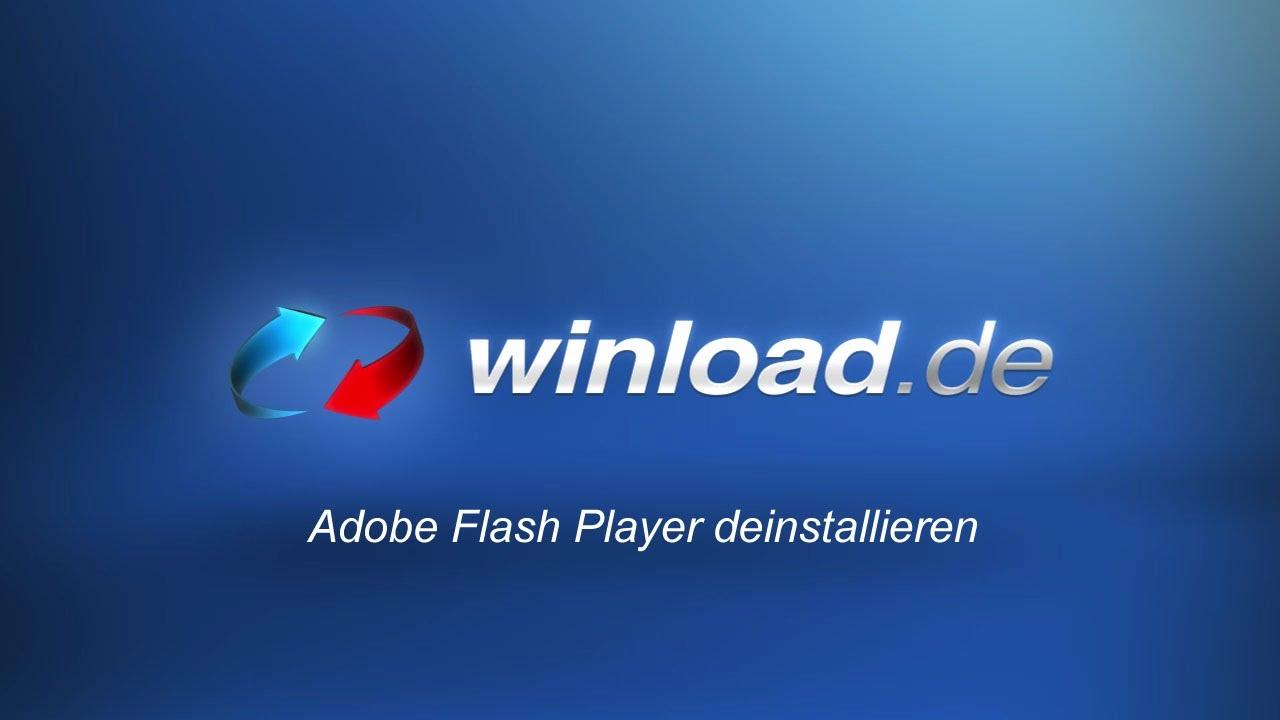 Flashplayer Deinstallieren