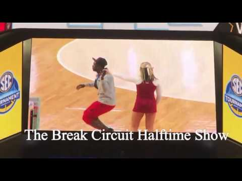 The Break Circuit Halftime show  SEC women's basketball tournament 2017