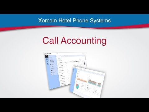 Call Accounting in Hotel PBX Phone System