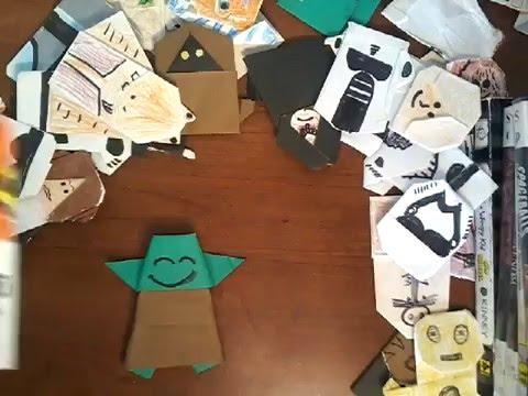 The Secret Wisdom of the Paper Towel Jawa next | Origami Yoda | 360x480