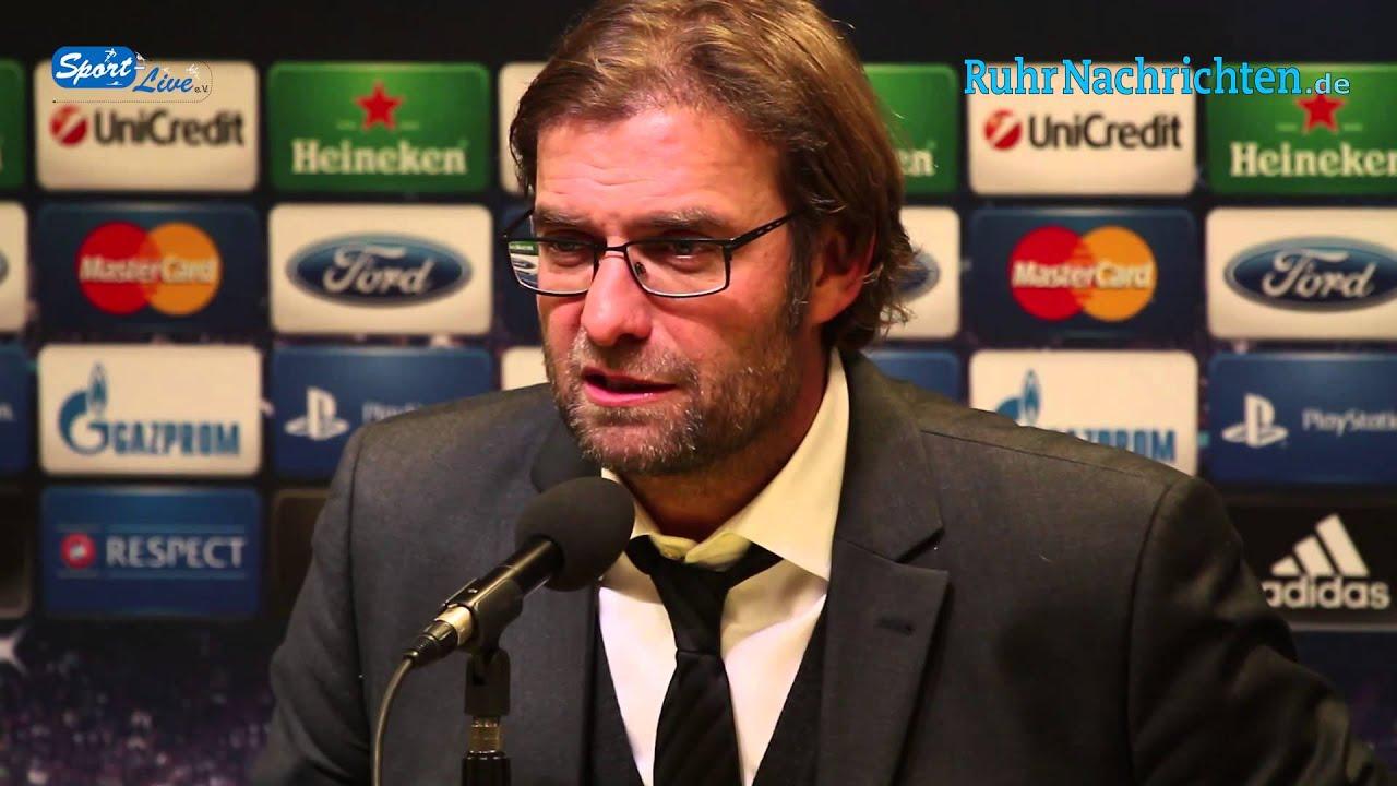 BVB Pressekonferenz vom 4. Dezember 2012 nach dem Spiel Borussia Dortmund gegen Manchester City