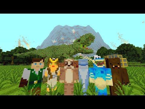 Jurassic World Fallen Kingdom : Minecraft Hide and Seek