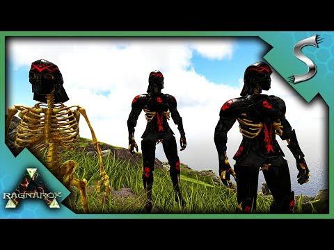 SKELETON WARRIORS ATTACK! NEW EPIC ARMOR & TERROR BIRD TAMING! - Ark: RAGNAROK - BUSH PEOPLE [S2E3]