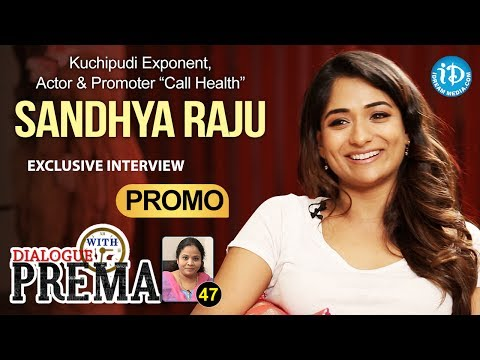Kuchipudi Dancer Sandhya Raju Exclusive Interview PROMO | DialogueWithPrema | CelebrationOfLife #47