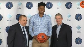 Wolves introduce first-round draft pick Justin Patton