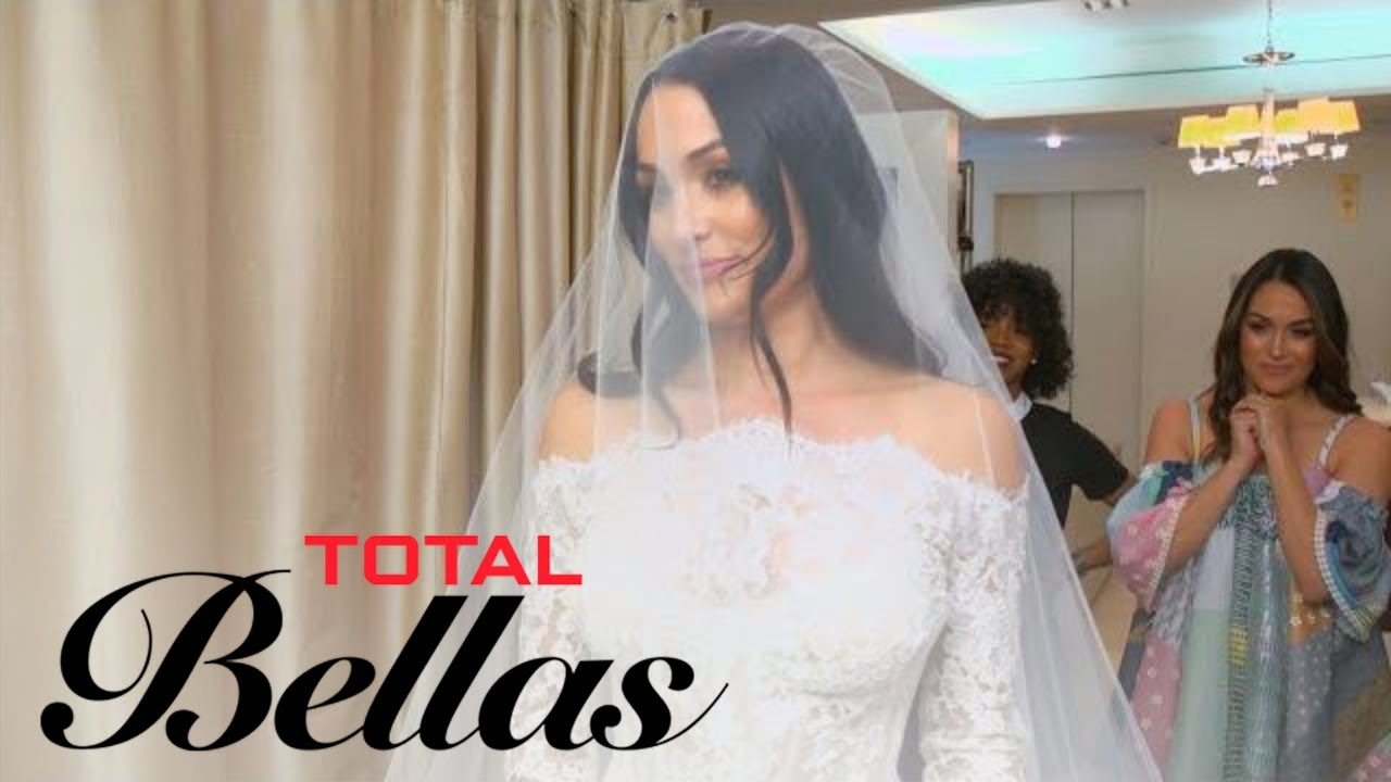 Nikki Bella Finally Finds Her Perfect Wedding Gown | Total Bellas ...