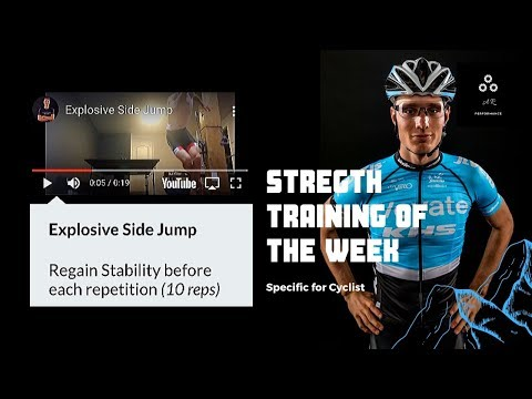 Strength Training Exercise of the Week: 1 Legged Side Jump - CYCLING SPECIFIC