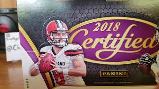 2018 certified football!  Also quick contest win!