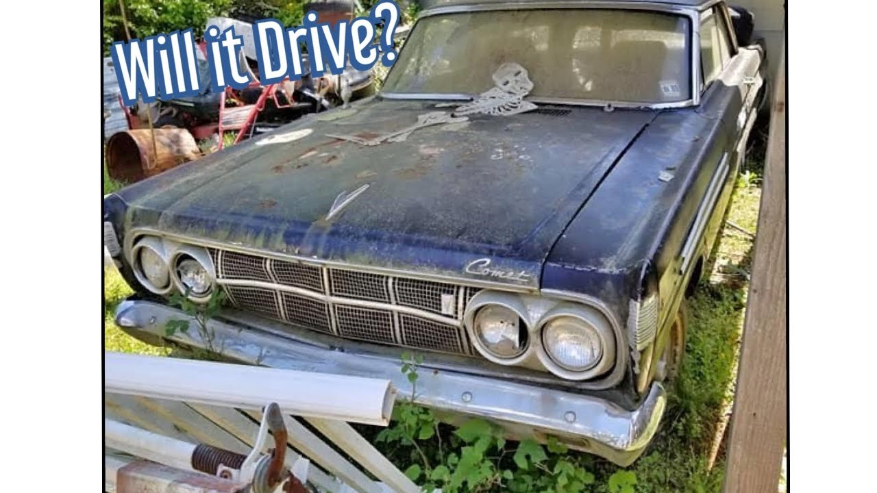 Shed Find V8 Mercury Comet: Will it run and drive after sitting for 31 Years