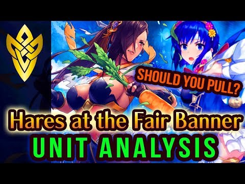 FEH Hares at the Fair Unit Analysis! Carrots Are Everything! | Fire Emblem Heroes