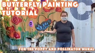 Butterfly Painting Tutorial