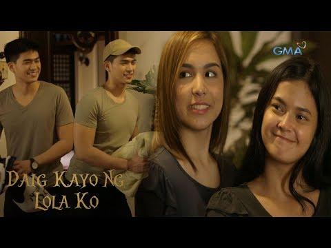 Daig Kayo Ng Lola Ko: Ella and Emma takes care of Mike and Mark