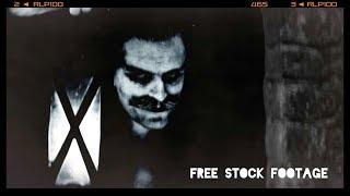 'DRACULA' SILENT FILM Free Stock Footage