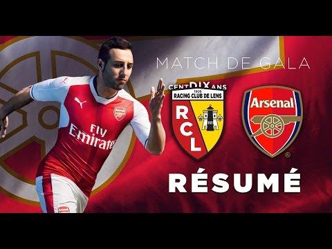Le Résumé De Lens - Arsenal En Amical...