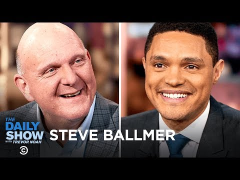 Steve Ballmer - Providing Government Data Without Partisanship with USAFacts | The Daily Show