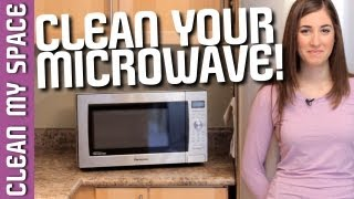 How to Clean A Microwave! Easy Kitchen Appliance Cleaning Ideas That Save Time (Clean My Space)