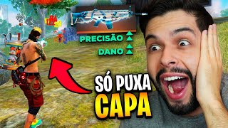 EQUIPEI TODAS AS ARMAS TRIBUTADAS E VIREI UM MONSTRO NO FREE FIRE!!