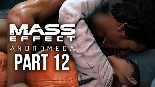 MASS EFFECT ANDROMEDA Walkthrough Part 12 - LIAM & RYDER ??? (Female) Full Game