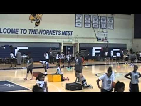 Girls Basketball Camp Training