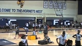 Girls Basketball Camp Training