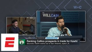 Are the Celtics, not the Lakers, favorites to land Kawhi Leonard? | The Will Cain Show | ESPN