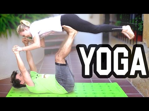 YOGA CHALLENGE W/GIRLFRIEND
