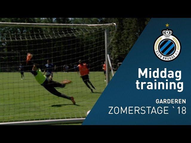 Zomerstage 2018: Middag training