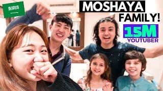 We Met the Biggest Arab Youtuber 🇸🇦|| Moshaya Family