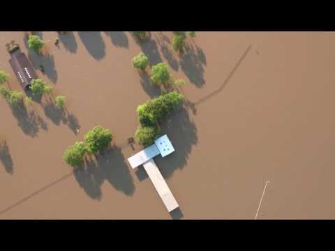 DJI 0695 Flight 3 Miles West over Flooded George Bush Park in W Houston from Armory to Scobee Memori