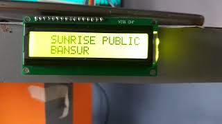 Output on Led screen