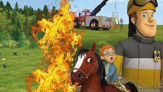 Пожарный Сэм на русском | Лучший огонь спасает 🚒 Эпизоды Компиляция | Новые серии HD🔥 мультфильм