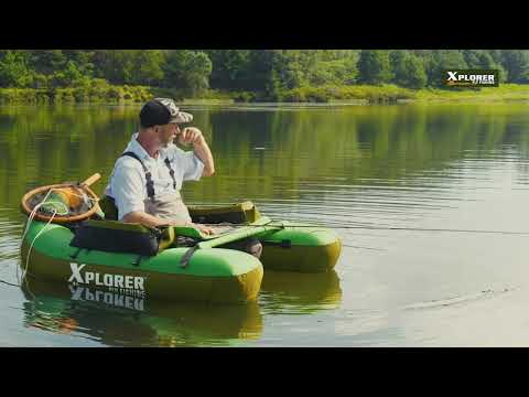XPLORER FLOAT TUBE MASTER CLASS -Finding Fish & Fly Retrieval