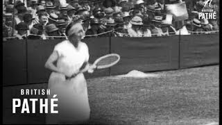 Ladies' Tennis (1920-1930)