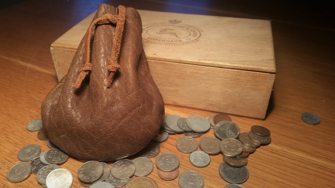 Leather Working Meval Coin Pouch