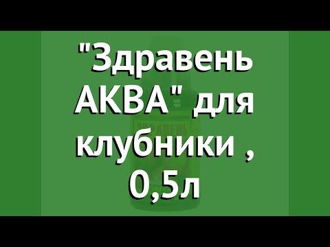 Здравень АКВА для клубники (Ваше хозяйство), 0,5л обзор 271004