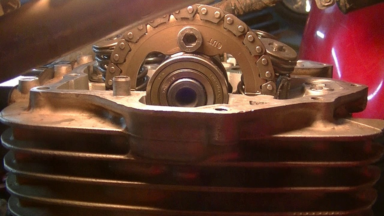 2003 03 HONDA 400EX CAM CHAIN TENSIONER
