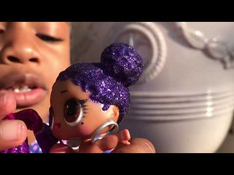 Giant Lol Surprise Ball at Toy School! Lil Sister Fake Takes Big Sister's Lol Dolls