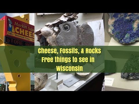 Cheese, Rocks, & Fossils in Wisconsin