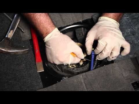 How to install a VW MK4 TDI Lift Pump and fuel level sender
