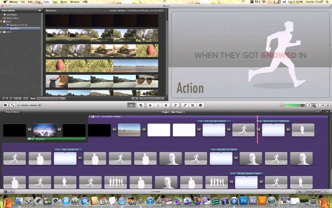 iMovie Christmas Theme - YouTube