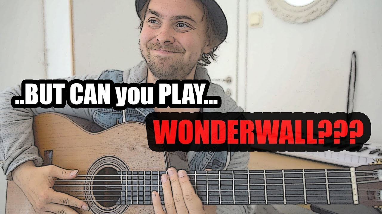 Download when a jazz guitarist goes to a party - wonderwall