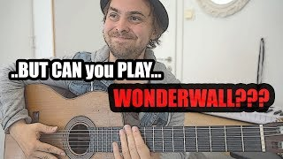 when a jazz guitarist goes to a party - wonderwall