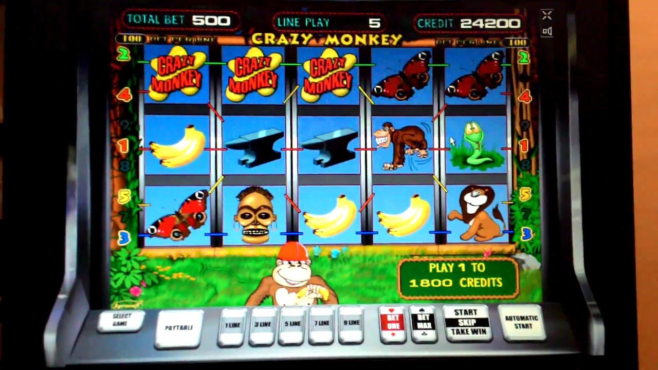 Купить игровой автомат crazy monkey ставкам