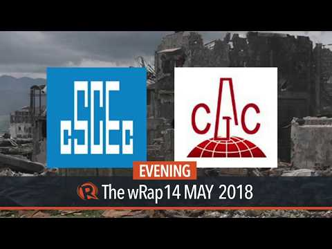 China firms in Marawi rehab once blacklisted by World Bank