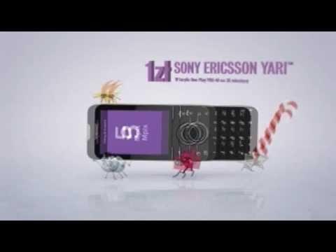Sony Ericsson Yari - reklama
