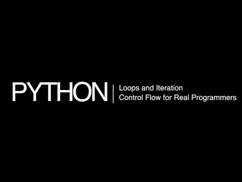 Python 3 Programming Course 10: Iteration and 'for' Loops