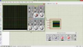 How to use Signal Generator And Oscilloscop In Proteus