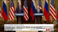 Der Trump-Putin-Gipfel: Pressekonferenz in Helsinki
